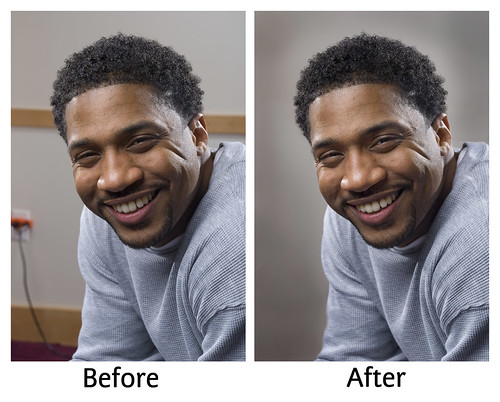 DaTruth Portrait - Before & After