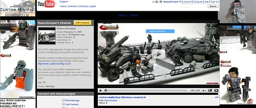 custom minifig blog! youtube channel and video