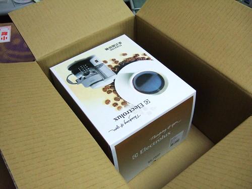我選的是Electrolux美式咖啡機