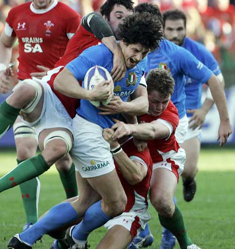 Zanni contro il Galles