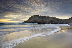 McClures Point - Near San Francisco (PatrickSmithPhotography) Tags: ocean california travel sunset sea wallpaper vacation usa seascape beach nature rock canon landscape sand marin wave marincounty 5d canon5d pointreyes lowtide 1740l mcclures canon5dmkii