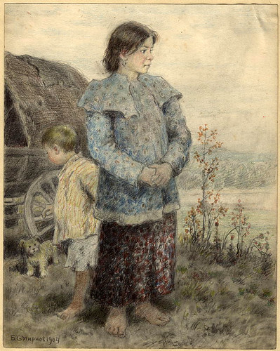 004- Hijos de personas reubicadas- Boris Smirnov 1904