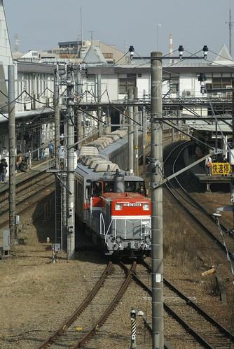 長野電鉄8500系甲種回送@長津田