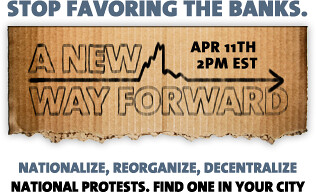 """National Socialist Protests Coming April 11th: """"A New Way Forward"""""""