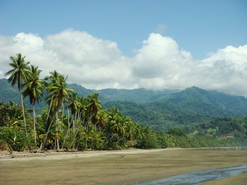 Beautiful Playa Uvita on Costa Rica's Pacific coast...