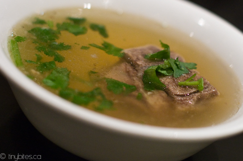 Hai Phong: broth on the side