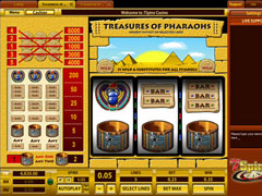 Treasures of Pharaohs 5 Lines