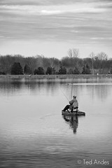 Gone Fishing (ted @ndes) Tags: park lake water boat fishing pond kentucky ky sony burn dodge louisville longrun a700 70300mmg theartistseyes yourphototips xgall
