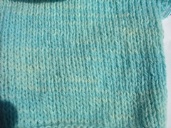 cashmere sock swatch close