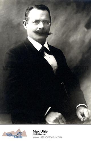 Max Uhle (Cortesia A.H.M.)