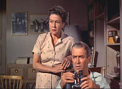 Rear window (the chauffeur) Tags: film 1954 rearwindow hitchcock jamesstewart thriller alfredhitchcock lafinestrasulcortile thelmaritter