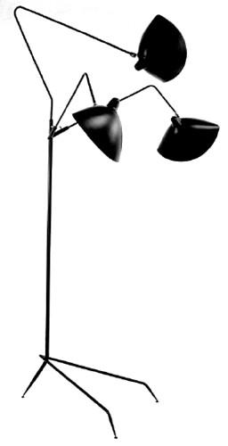 LAMPADAIRE 3 LUMIERES/ランパデール トワ ルミエーレ