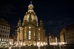 Dresden 08 - Frauenkirche at night (Kay Gaensler) Tags: germany deutschland dresden kay 2008 frauenkirche hdr gaensler