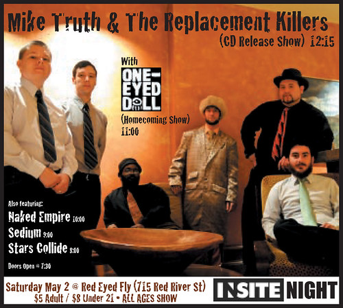 INsite Night - Mike Truth and the Replacement Killers CD Release