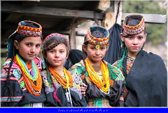 Kalash girls from Hindukush, Pakistan (imranthetrekker , new year new adventures) Tags: pakistan people afghanistan mountains tourism nature colors animals portraits faces nwfp veda aryans ayun chitral hindukush romboor imranthetrekker imranschah kalashvalleys birir nooristan kalashtribes bamborate chitralguy vedicculture kalashgirl chitralis