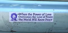 Power of Love (enrguerrero) Tags: ocean california county beach pacific marin bolinas co hippie pacifico oceano
