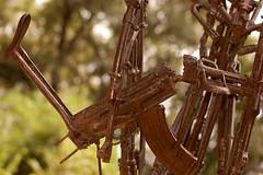 ....Casualities of War.... (Jon in Thailand) Tags: art d50 nikon jon war cambodia northern ak47 noclsinfo