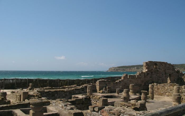 Roman remains at Baelo Claudia