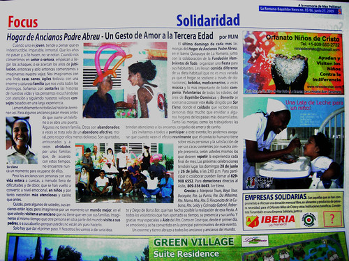 Bayahibe News - Asilo de Ancianos