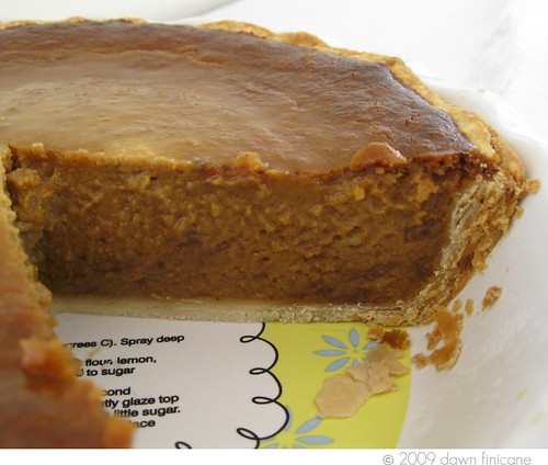 PB pumpkin pie