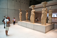 Caryatids of the Erechtheion (macropoulos) Tags: museum female statues athens greece marble acropolis canonef2470mmf28lusm caryatids erechtheum erechtheion canoneos5d acropolismuseum
