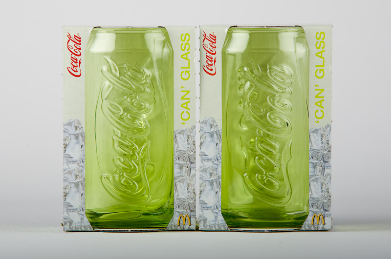 Coca Cola 'Can' glass