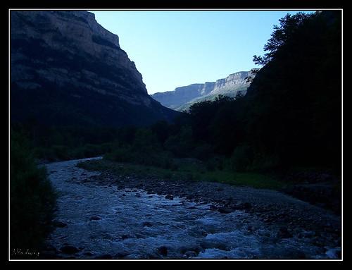 Ordesa - Río Arazas al amanecer