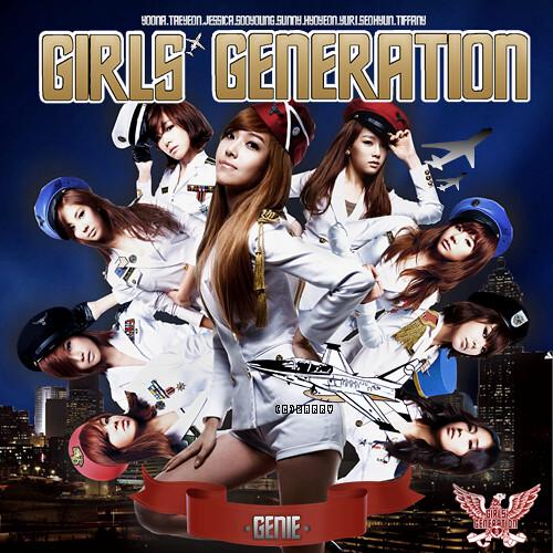 "Girls' Generation (SNSD)'s 2nd mini album, ""Genie"". Jessica version"