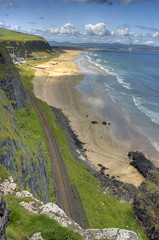 Benone Beach (Victor Hazelton ) Tags: ireland beach northernireland benone mussenden worldwidelandscapes britishseascapes