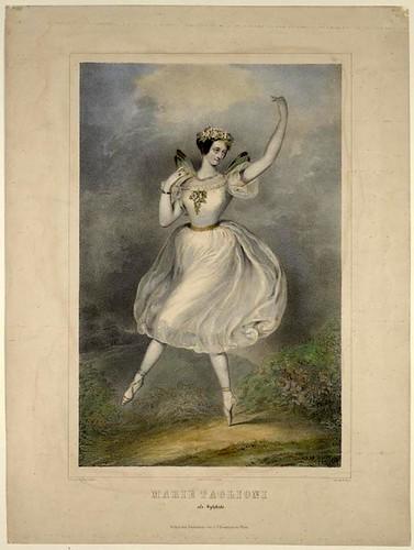 014- Maria Taglioni en Sylphide 1839