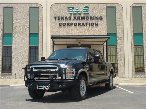 Armored Bulletproof Ford F 250 Pickup Truck