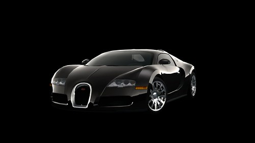 GT PSP - Bugatti Veyron 16.4 '09 SpecialColor A front