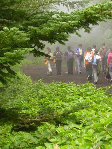 Subida al Fuji 10 (el inicio)