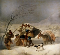 Goya 1786-87 - D The Snowstorm, or Winter (petrus.agricola) Tags: madrid winter portrait dog chien cane museum del four high francisco seasons y hiver snowstorm picture muse perro hund resolution prado museo nacional goya lucientes