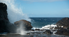 20090626-4468 (etlikesreeses) Tags: ocean usa water hawaii unitedstates pacific maui pacificocean nakaleleblowhole honoapiilanihighway hawaii2009