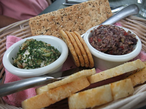 Wisconsin Cheese Ball and Olive Tapenade from the Inn at Cedar Falls