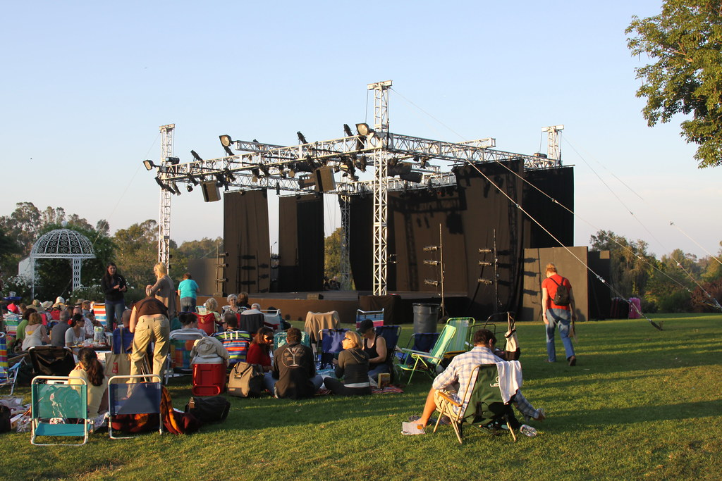 Shakespeare In the Park with Theatre Drapes