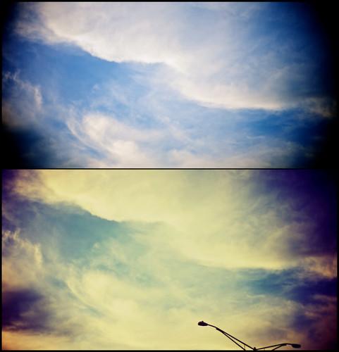 Sky Again and Again