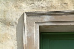Doorway detail, Harled finish with Slurry Coat,Kinsale