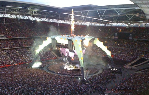 U2 Wembely - start
