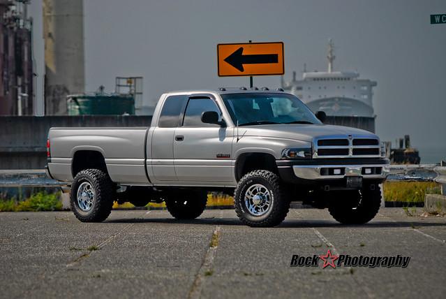 silver compound 4x4 diesel twin turbo dodge ram cummins 2500 3500 kylephotoshoot