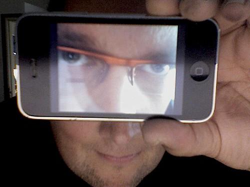 Selbstportrait mit iPhone