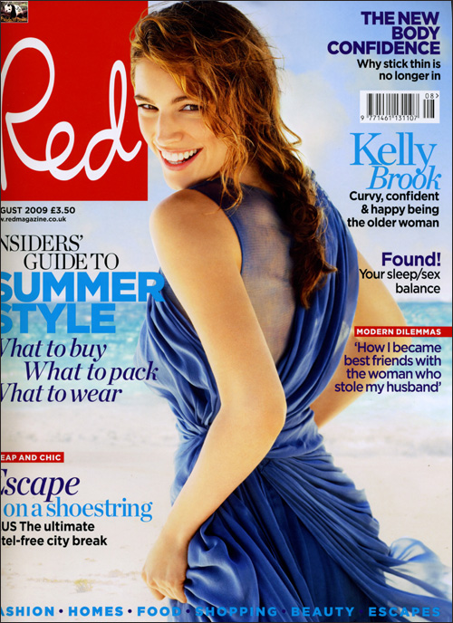 Kelly Brook – Red Magazine August 2009 - beautiful girls