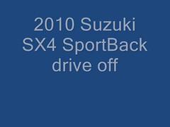 2010 Suzuki SX4 SportBack drive off