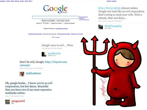 google es el diablo