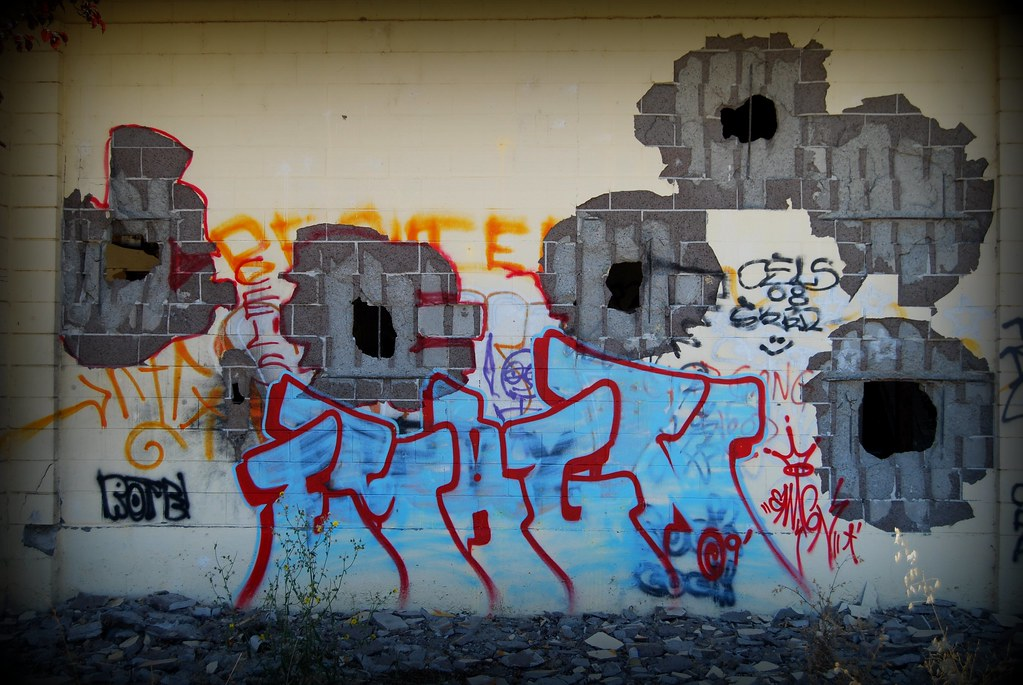 EMAGN graffiti bomb sonoma county california.