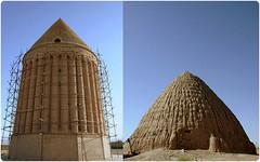 يخچال گنبدي و ميل رادكان (Reza-ir) Tags: history iran khorasan تاريخ ايران ساختمان بنا معماري خراسانرضوي رادكان