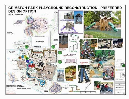 New Grimston Park playground plan