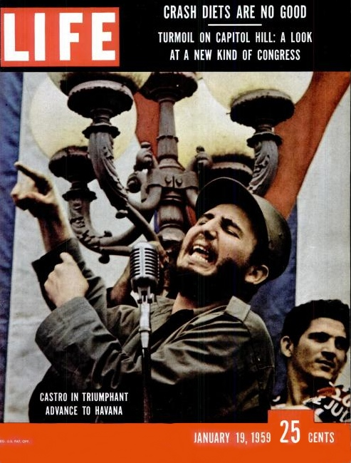 Castro on LIFE Cover Jan 1959
