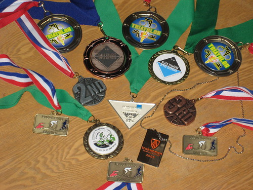 Triathlon Shinies won in the 2009 season